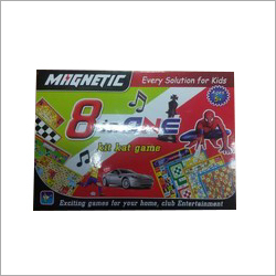 Kids Magnetic 8 In One Game Board
