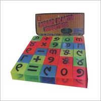 Plastic Alphabet Block