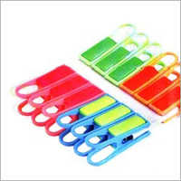 Colored Plastic Cloth Clips
