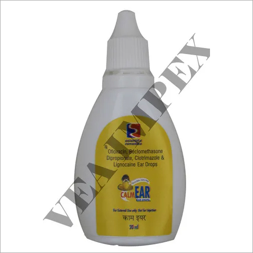 CALM EAR DROPS 20ML-OFLOXACIN 0.3%W/V +BECLOMETHAS