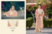 Banarasi jacquard salwar kameez