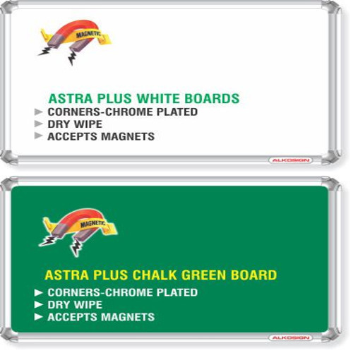 Astra chrome plus writing board