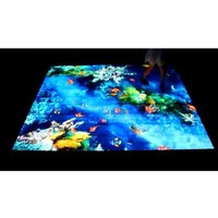 Kid indoor center interactive projection system game interactive floor projection