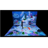 3D interactive projection system,