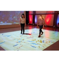 New Product 3d Display Magic sand interactive Floor Projection System