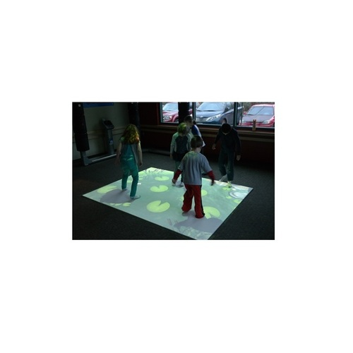 Amusement park equipment interactive projector floor Projection system 3d