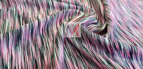 Polyester Space Lycra Fabric