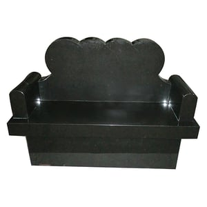 Cremation Bench With Heart