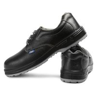 Allen Cooper AC-1143 Black Steel Toe Safety Shoes