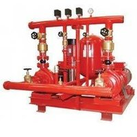 Main fire pump set