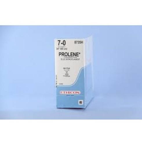 7-0 Ethicon Prolene(Polypropylene)