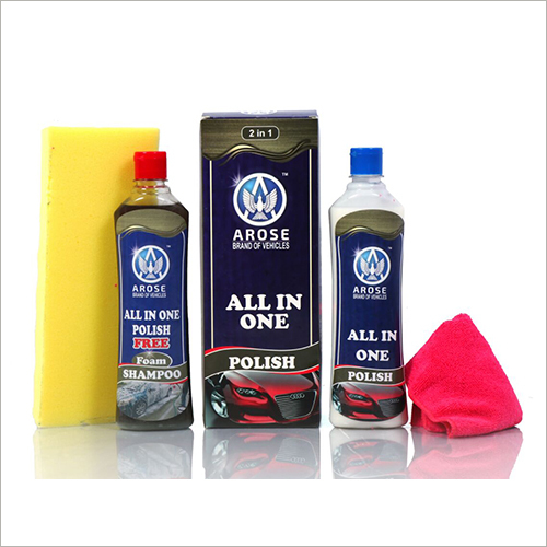 Car Polish And Shampoo
