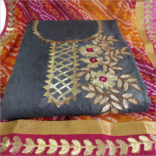 Embroidered Kurti Dress Material