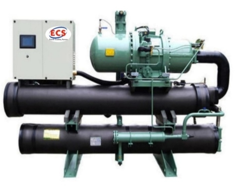 60Tr Water cooled Screw Chiller Plant