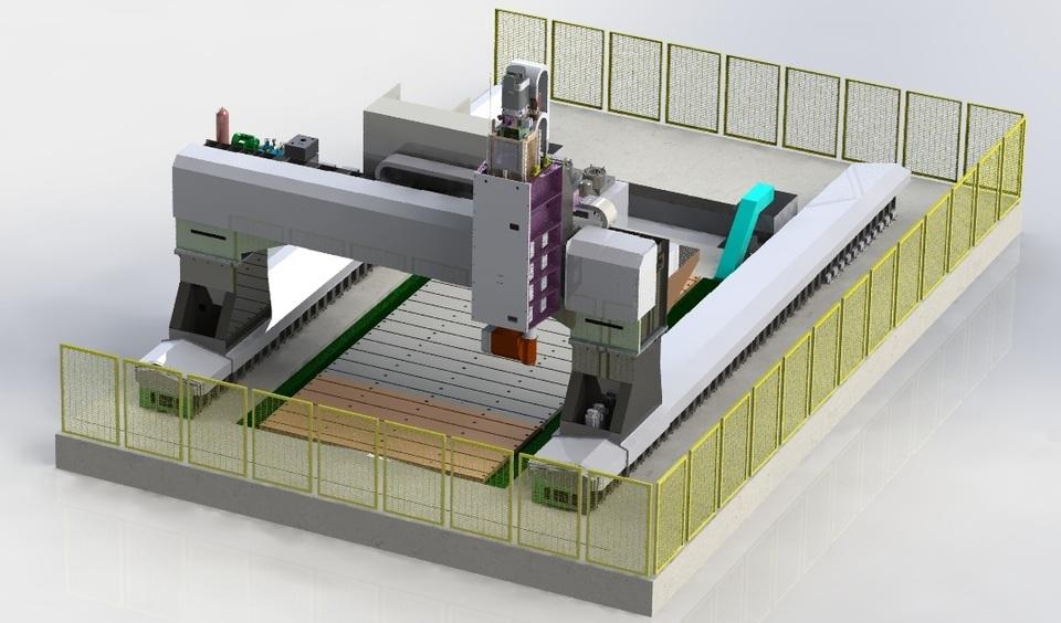 Gantry Type VMC Machine