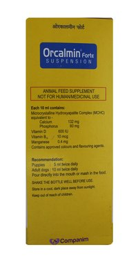 ORCALMIN FORTE SUSPENSION 200 ML