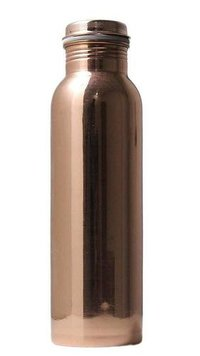 Pure Copper Water bottlewith grip handle
