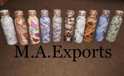 Printed Designed Copper Bottles