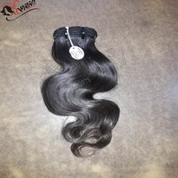 Single Drawn Human Hair Wavy Virgin