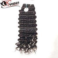 Weave Bundles Deep Curly hair Extensions Remy Hair Bundles