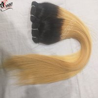 Single Drawn One Piece Only Ombre Hair Extensions