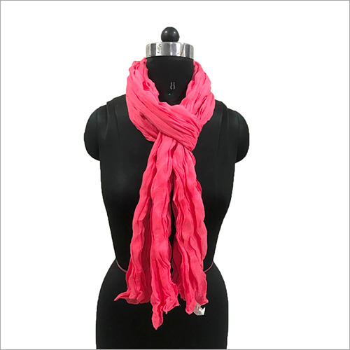 Ladies Cotton Wrinkle Scarves