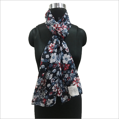 Ladies Polyester Printed Scarves