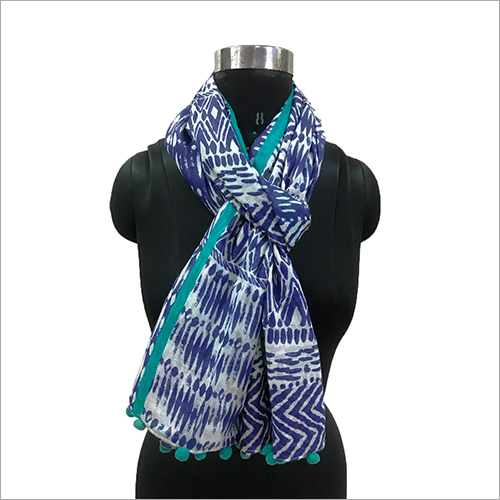Ladies Pompom Scarves