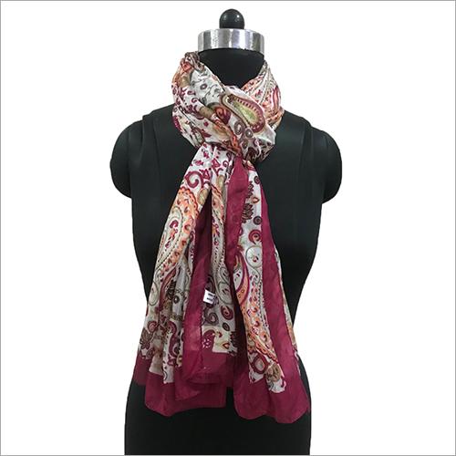 Ladies Silk Printed Scarves
