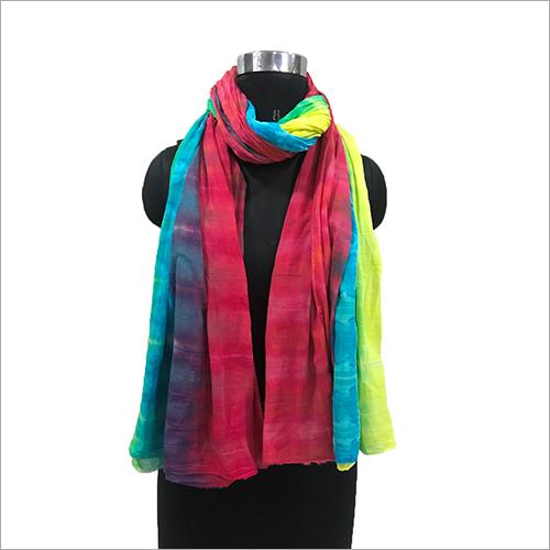Ladies Tie Dye Scarves