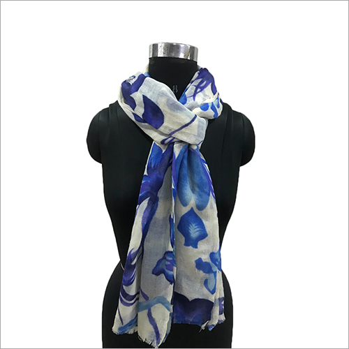 Ladies Printed Wool Scarves