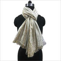 Ladies Cotton Jacquard Shawls