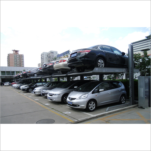 Double Car Stacker Lift