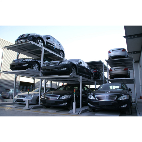 3 Level Pit Type Parking System