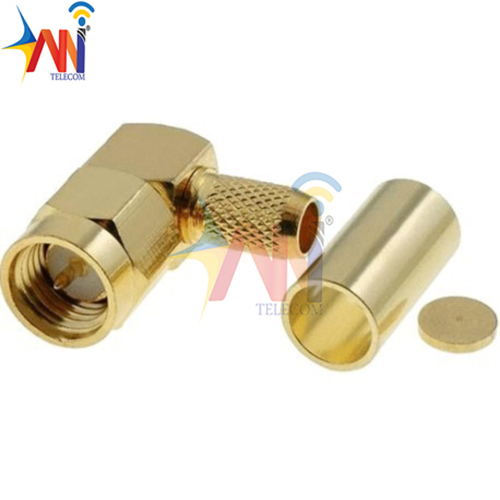 SMA Male RA RP For RG316 (M-Body, F-Pin)