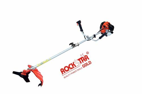 ROCKSTAR NEW AND IMPROVED 2 Stroke/1900 Watt/ 52cc / 2.5HP/8000rpm Air Cooled Grass Cutting Machine For / Agriculture / Gardening / Farming With Paddy Guard/ 2pc Blade/Trimmer Head And Safety Kit