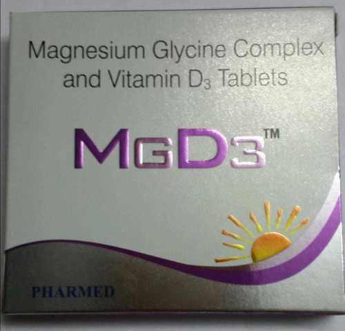 MAGNESIUM GLYCINE COMPLEX VITAMIN D3