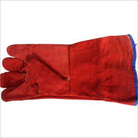 Leather Hand Gloves With Lining