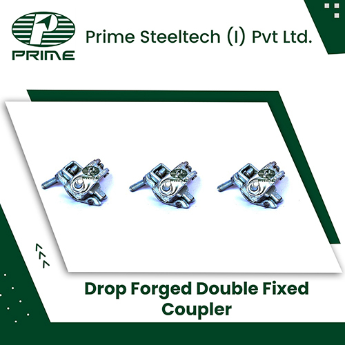 Drop Forged Double Fixed Coupler