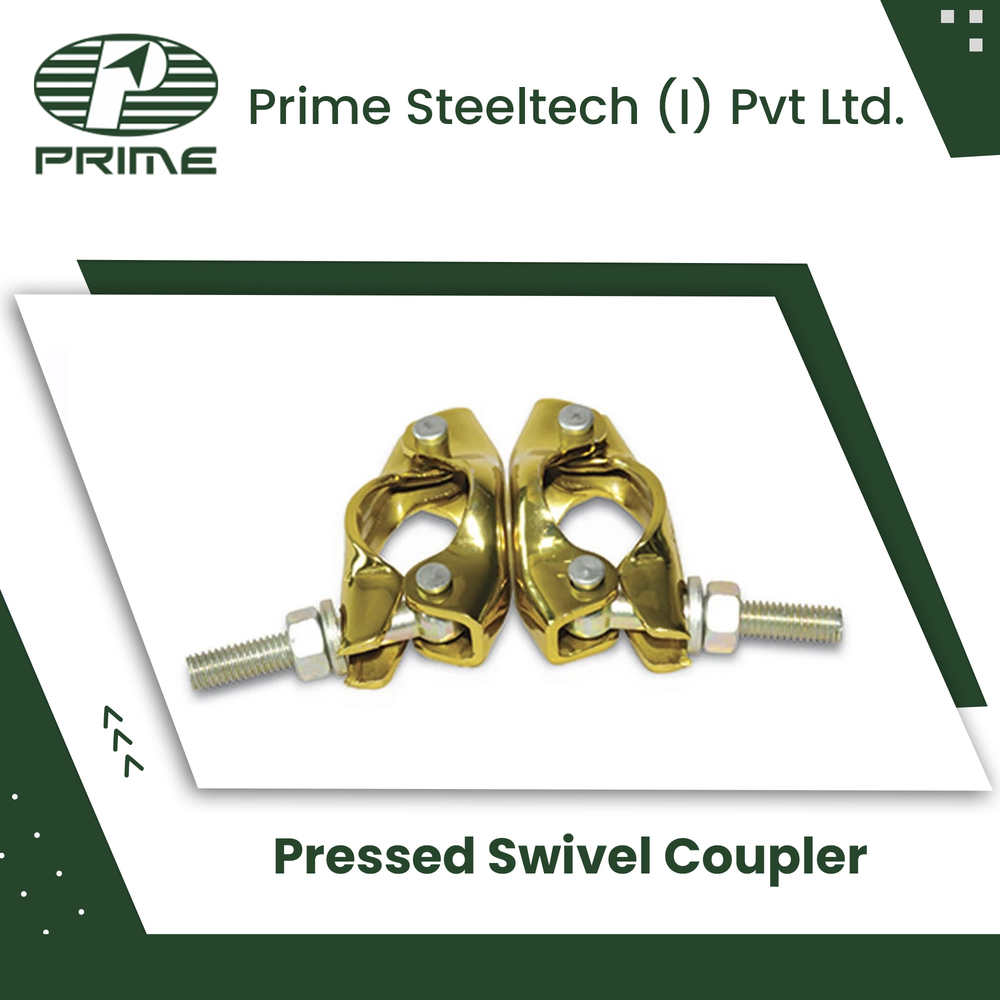 Pressed Steel Swivel Coupler