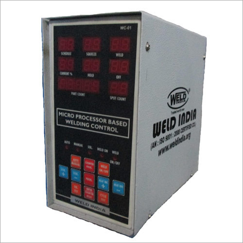 Welding Machine Control Panel