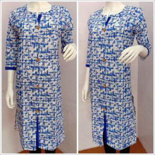 Ethnic Ladies Printed Kurtis