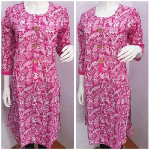Designer Ladies Printed Kurtis