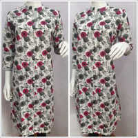 Ladies Collar Printed Kurtis
