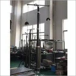 Pneumatic mast