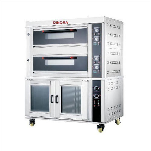 Two Deck Tray Oven With Proofer
