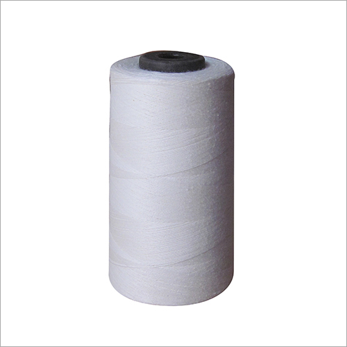 Plain White Pure Cotton Thread