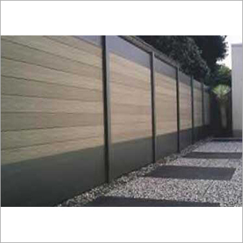 Outdoor Plastic Wood Fence