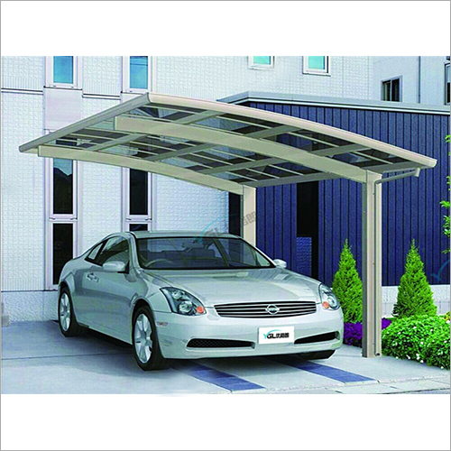 Aluminum Alloy Singleside Shed Carport