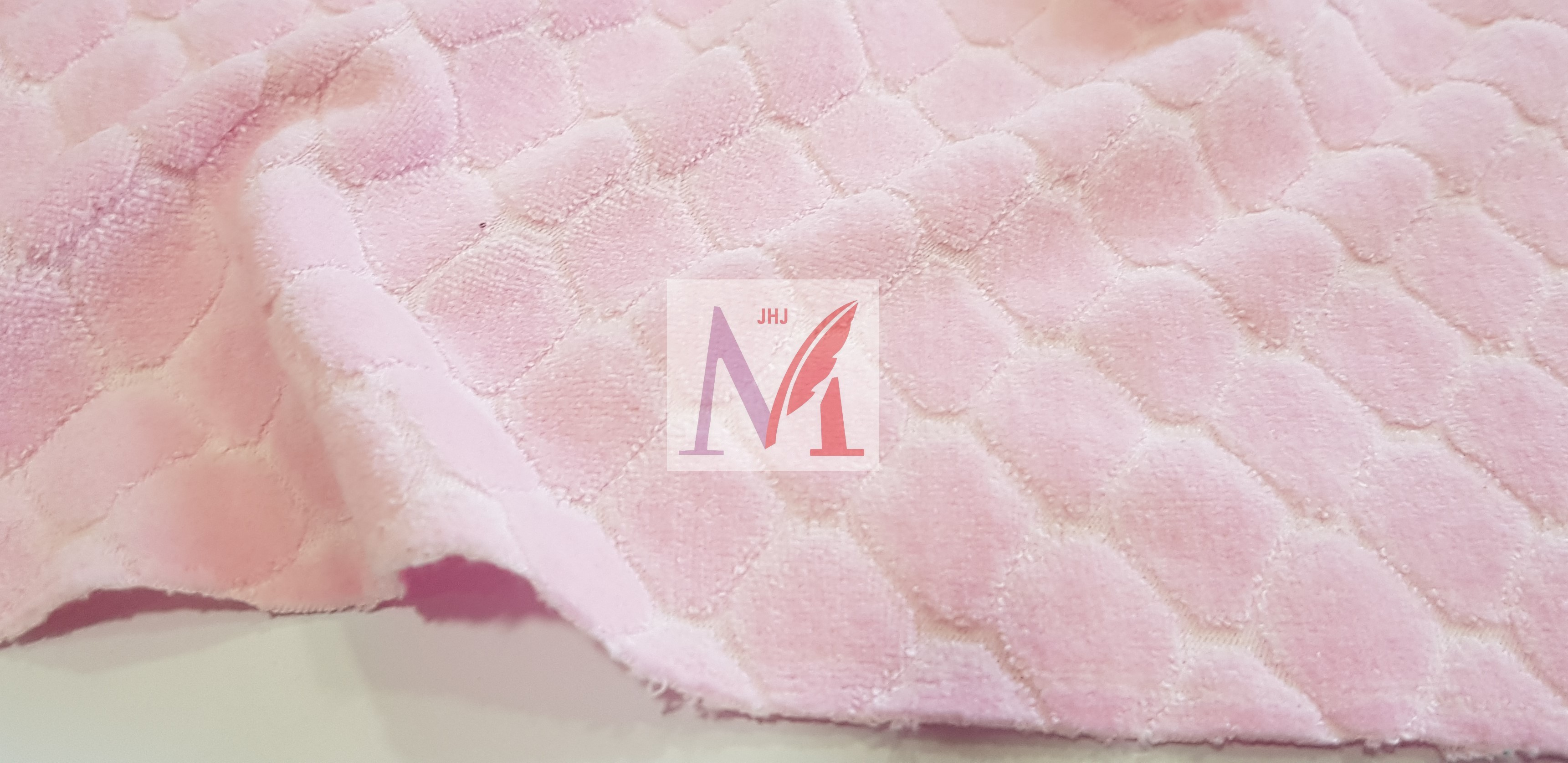 Cotton Velour Jacquard Fabric
